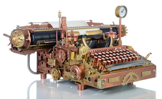 Cyberpunk Typewriter