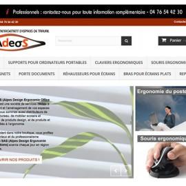 Boutique Prestashop – Produits de bureau