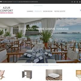 Refonte du site Internet Azur Confort