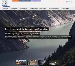 Institut des Risques Majeurs de Grenoble – Maintenance corrective et évolutive de sites Web