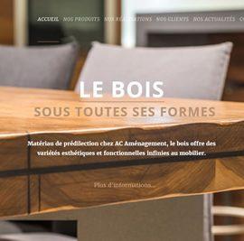 Un site Internet bilingue pour AC Aménagement