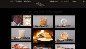 Mise en œuvre du site Internet de la Maison Cardinet, fromager affineur à Marcilloles en Isère