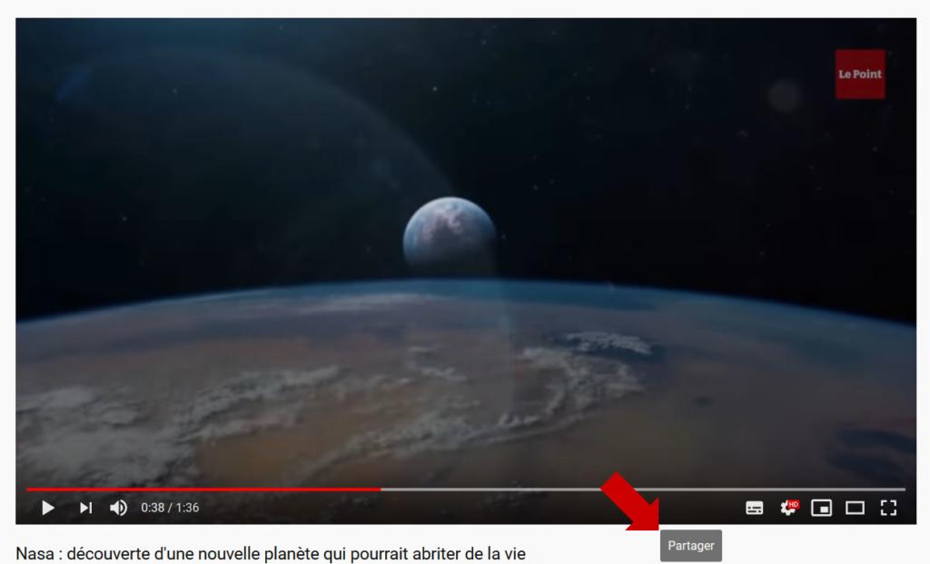 Intégrer une vidéo YouTube à un site Web